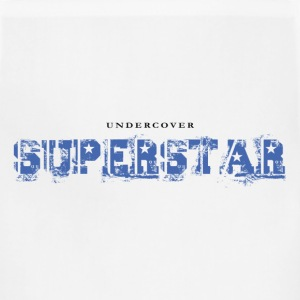 Undercover Superstar. Funny T-Shirt Design - Adjustable Apron
