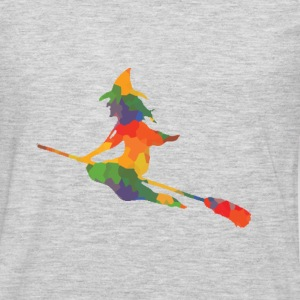 Colored witch - Men's Premium Long Sleeve T-Shirt