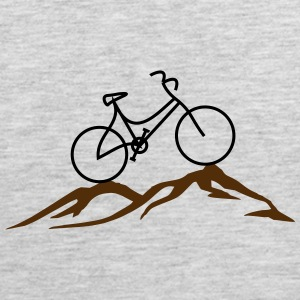 Old bike mountains - Men's Premium Tank