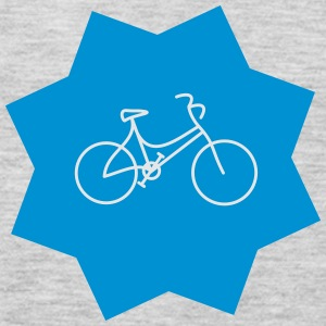 Lady's bike star - Men's Premium Long Sleeve T-Shirt