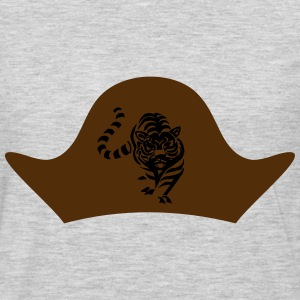 Pirate hat with lion - Men's Premium Long Sleeve T-Shirt