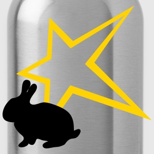 Freaky rabbit star - Water Bottle