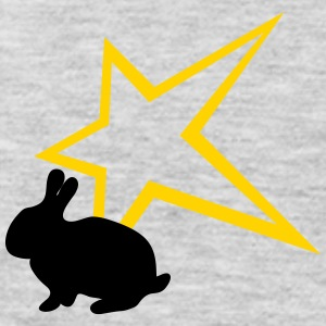Freaky rabbit star - Men's Premium Long Sleeve T-Shirt