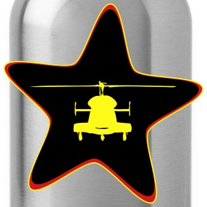 Helicopter star - Water Bottle