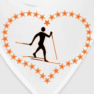 Cross-country star heart - Bandana