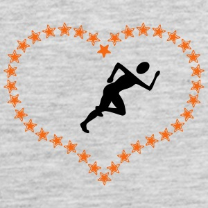 Joggers in the stars of heart - Men's Premium Tank