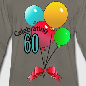 Celebrating 60 - Men's Premium Long Sleeve T-Shirt