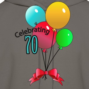 Celebrating 70 - Men's Hoodie