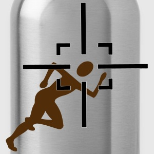 Joggers in the crosshairs - Water Bottle