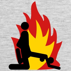 Hot bums fire - Men's Premium Tank