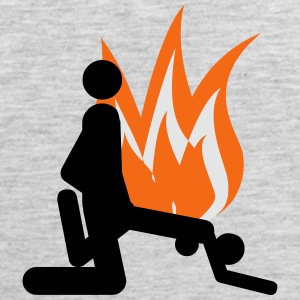 Hot sex of flame - Men's Premium Tank