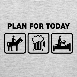 Horse Riding Plan For Today - Men's Premium Tank