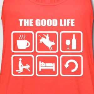 Rodeo The Good Life - Women's Flowy Tank Top by Bella