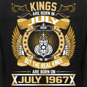 The Real Kings Are Born On July 1967 T-Shirts - Men's Premium Tank