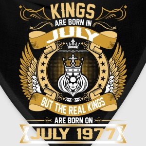 The Real Kings Are Born On July 1977 T-Shirts - Bandana