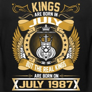 The Real Kings Are Born On July 1987 T-Shirts - Men's Premium Tank