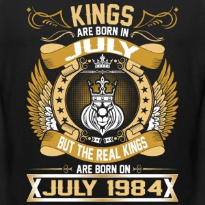 The Real Kings Are Born On July 1984 T-Shirts - Men's Premium Tank