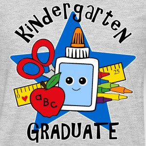 School Supplies Kindergarten Grad Kids' Shirts - Men's Premium Long Sleeve T-Shirt