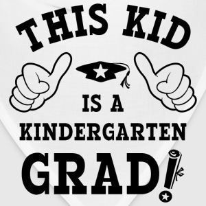 This Kid Kindergarten Grad Kids' Shirts - Bandana