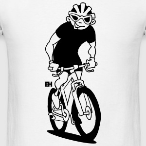 Mountain biker - MTB Long Sleeve Shirts - Men's T-Shirt