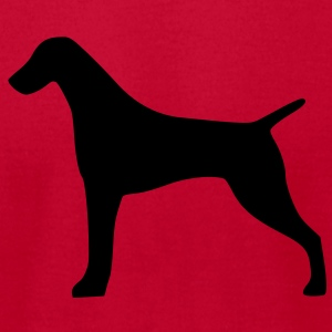 German Shorthaired Pointer - Men's T-Shirt by American Apparel