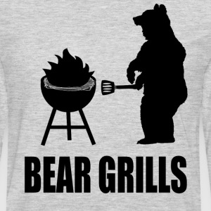 Bear Grills T-Shirts - Men's Premium Long Sleeve T-Shirt