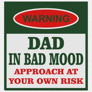 Dad In Bad Mood Mugs & Drinkware - Men's Premium Tank