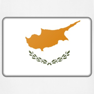 Cyprus flag (bevelled) - Adjustable Apron