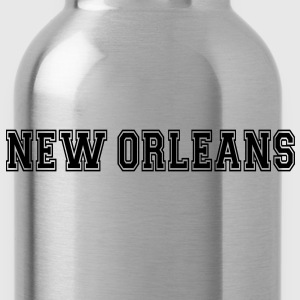New Orleans Long Sleeve Shirts - Water Bottle