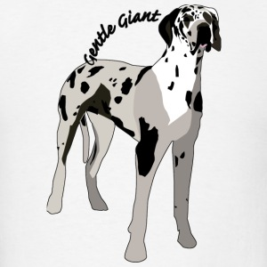 Great Dane or Gentle Giant - Men's T-Shirt