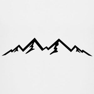 Mountains, Mountain (super cheap!) Kids' Shirts - Toddler Premium T-Shirt
