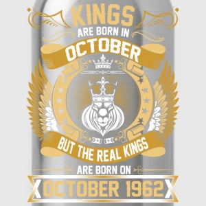 The Real Kings Are Born On October 1962 T-Shirts - Water Bottle