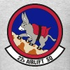 USAF US Air Force 22nd Airlift Squadron Logo Shirt - Men's T-Shirt