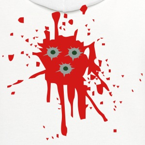 Bullet Holes T-Shirts - Contrast Hoodie