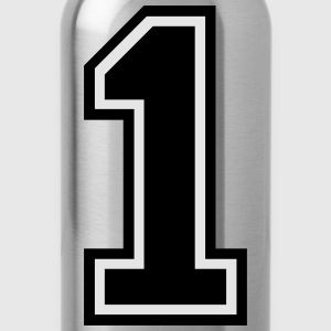 Number 1 One Kids' Shirts - Water Bottle