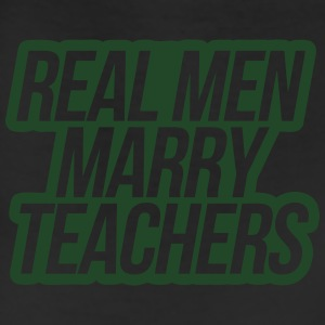 Real Men Marry Teachers T-Shirts - Leggings