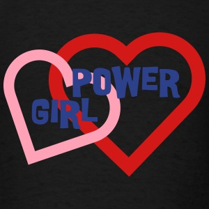 Girl Power Love Hearts 3c Tanks - Men's T-Shirt