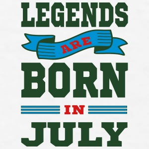 Legends Are Born In July Mugs & Drinkware - Men's T-Shirt