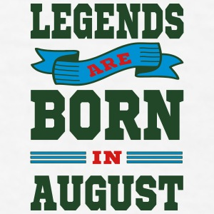 Legends Are Born In August Mugs & Drinkware - Men's T-Shirt