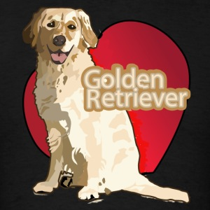 Love Golden Retriever - Men's T-Shirt