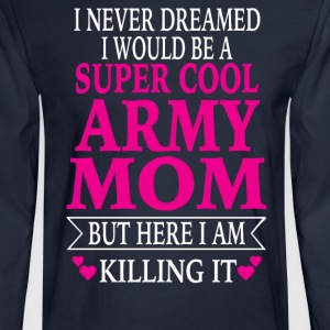 Army Mom - Men's Long Sleeve T-Shirt