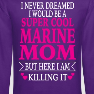 Marine Mom - Crewneck Sweatshirt