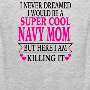 Navy Mom - Men's Premium Tank