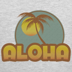 Aloha Palm T-Shirts - Men's Premium Tank