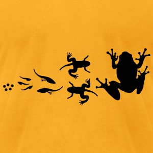 frog_evolution Bags  - Men's T-Shirt by American Apparel