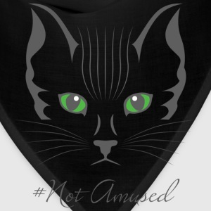 #Not amused cat art - Bandana
