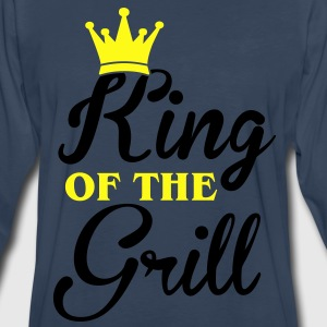 King of the Grill Hoodies - Men's Premium Long Sleeve T-Shirt