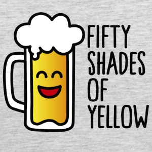 Fifty shades of yellow T-Shirts - Men's Premium Tank