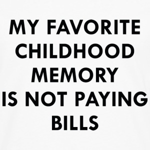 Favorite Childhood Memory - Men's Premium Long Sleeve T-Shirt