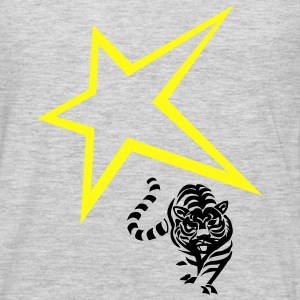 Star with a lion - Men's Premium Long Sleeve T-Shirt